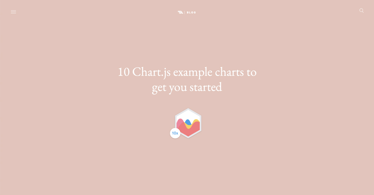 10 Chart js example charts to get you started | Tobias Ahlin